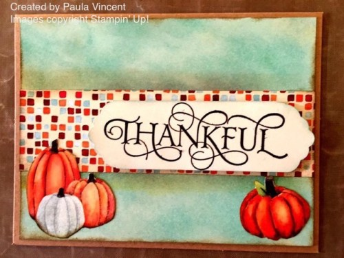 Stampin' Up! Painted Autumn