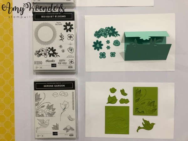Stampin' Up! Bouquet Blooms & Serene Garden - Stamp With Amy K