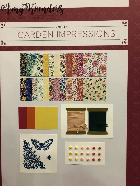 Stampin' Up! Garden Impressions - Stamp With Amy K