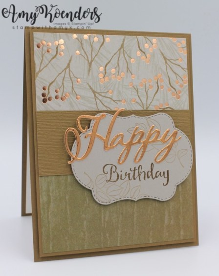 Stampin Up Blended Seasons Birthday Card Bundle Now Available