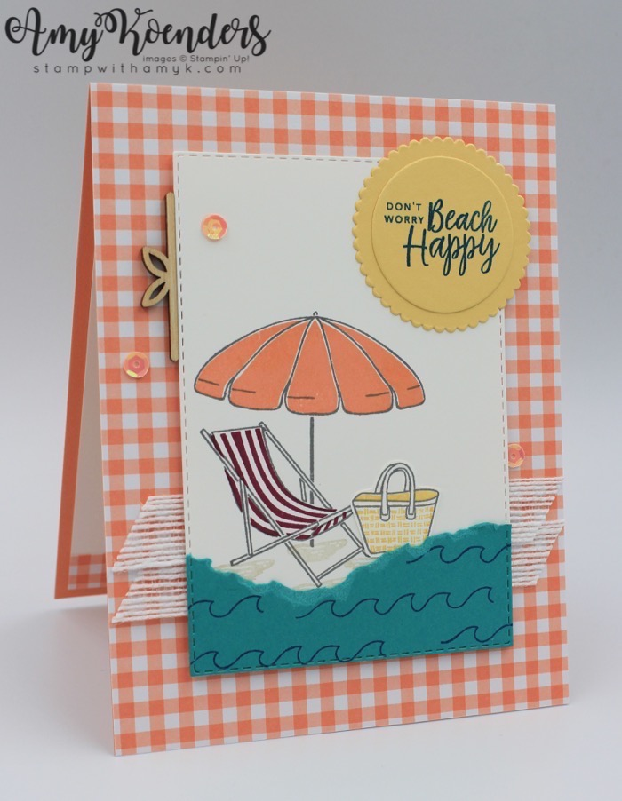 Stampin' Up! Beach Happy for Sunday Stamps