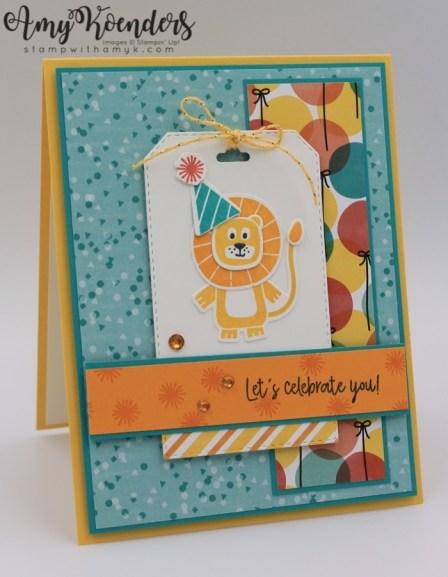 Birthday card Stampin Up