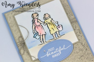 Stampin' Up! Beautiful Moments Beach Card