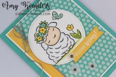 Stampin' Up! Springtime Joy Hello Spring Card