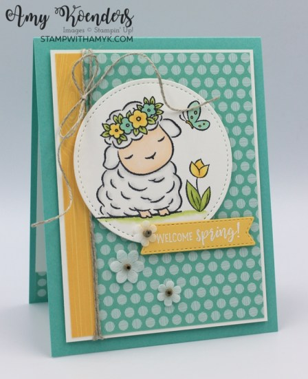 Stampin' Up! Springtime Joy Hello Spring Card