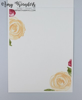 Stampin' Up! Artistically Inked CAS Hello Card