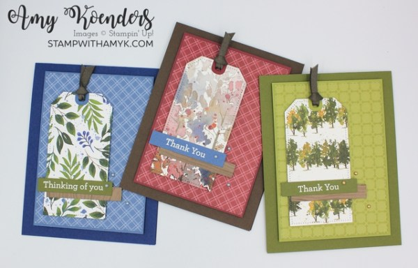 Stampin' Up! Beauty Of Friendship CAS Masculine Card