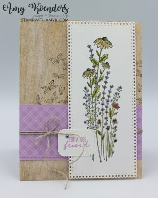 Stampin' Up! Dragonfly Garden For A True Friend Card