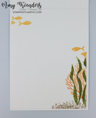 Stampin' Up! Seascape Wonderful You Card