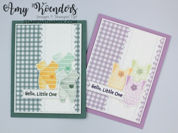 Stampin' Up! All For Baby Card