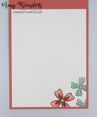 Stampin' Up! Flowers Of Friendship Thank You Card