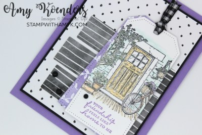 Stampin' Up! Feels Like Home Friendship Card