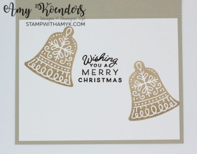 Stampin' Up! Frosted Gingerbread Christmas Card