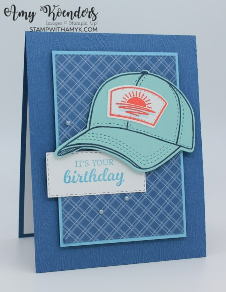 Stampin' Up! Hats Off Birthday Card