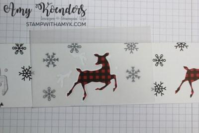 Stampin' Up! Peaceful Deer Christmas Card