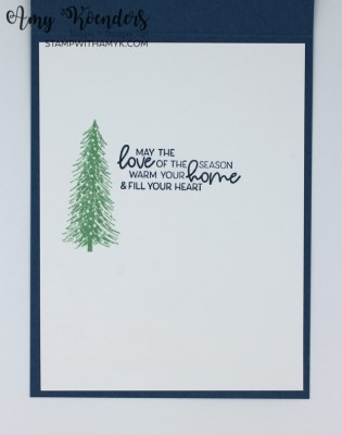 Stampin' Up! Whimsical Trees Christmas Card