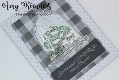 Stampin' Up! Classic Cloche Christmas Shaker Card