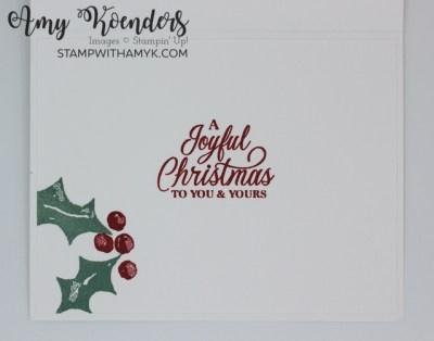 Stampin' Up! Christmas Season CAS Christmas Card