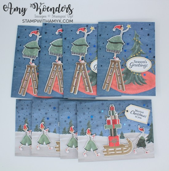 Stampin' Up! Christmas Whimsy Card Kit
