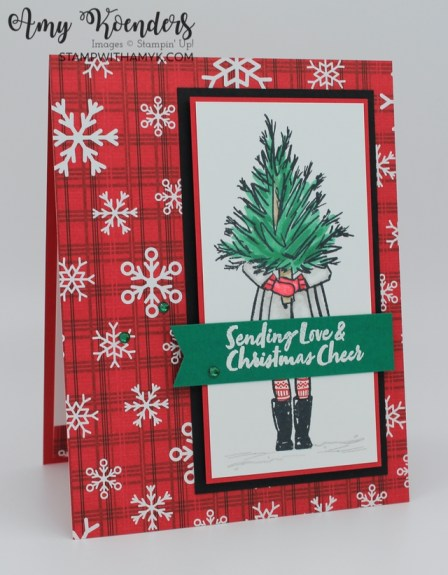 Stampin' Up! Delivering Cheer Christmas Card