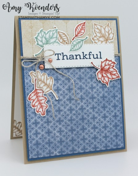 Stampin' Up! Time Of Giving Thank You Card