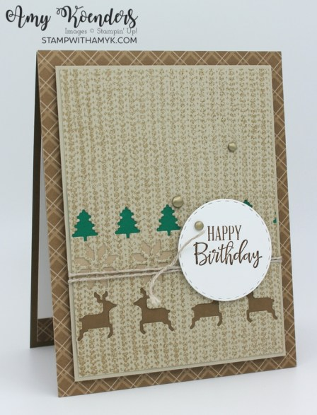 Stampin' Up! Knit Together Birthday Card
