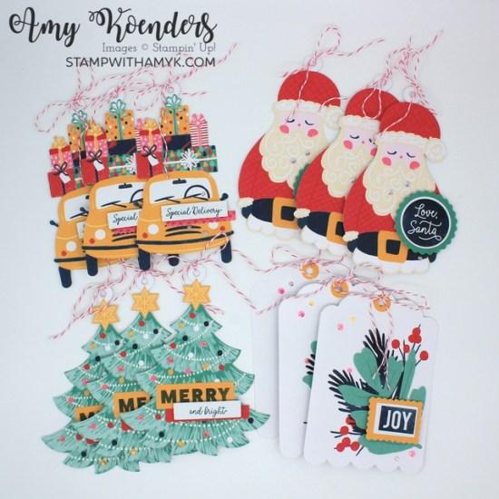 Stampin' Up! Love, Santa Tag Kit