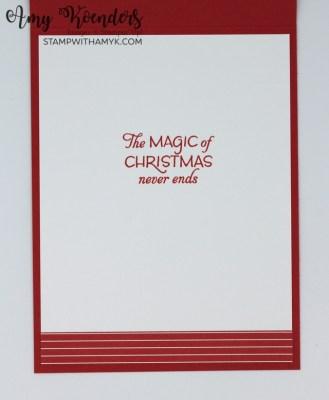 Stampin' Up! Seasons Of Fun Christmas Card