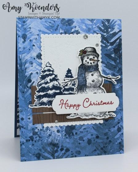 Stampin' Up! Snow Wonder Christmas Card