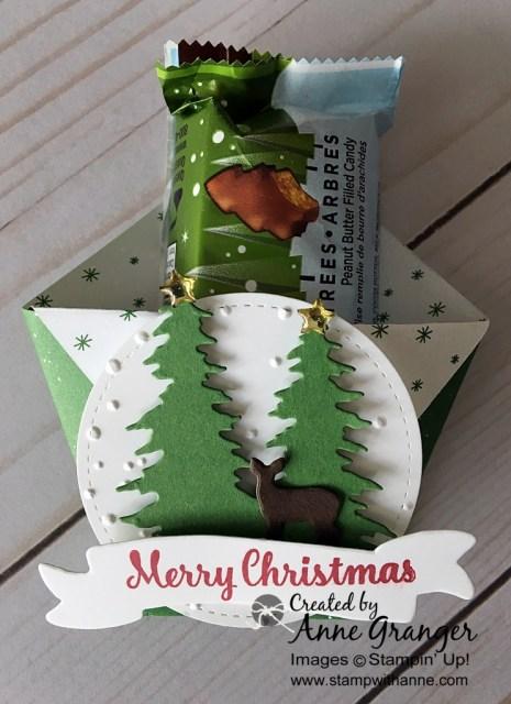 Fancy Fold Diaper Fold using the Carols of Christmas bundle