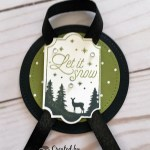 Gift Tags create with the Merry Little Labels Stamp set by Stampin