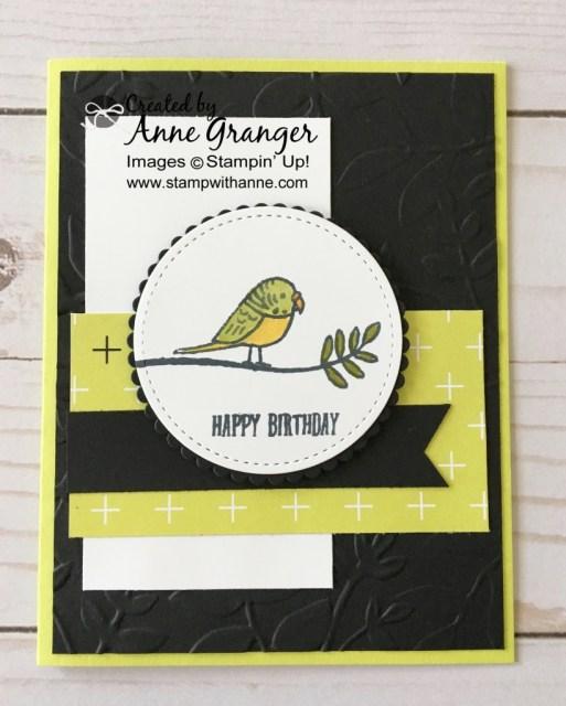 Stampin' Up Bird Banter Stamp set