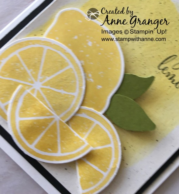 Lemon Zest Bundle By Stampin' Up!  CASING the Designer - Global Designer Project 132