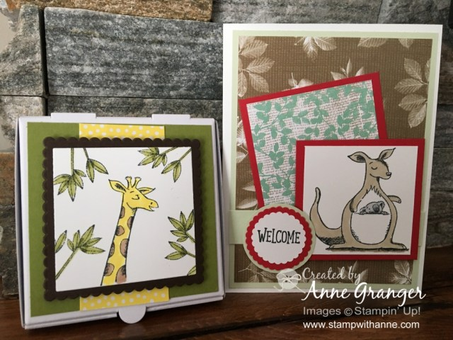 Stampin' Up! Animal Outing  - Saturday Facebook Live