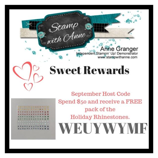 September Host Code Rewards
