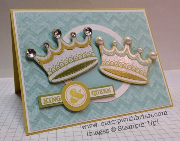 You Rule!, PPA158,Stampin' Up!, stampwithbrian.com