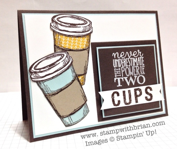 Perfect Blend, Yippee-Skippee, Stampin' Up!, Brian King