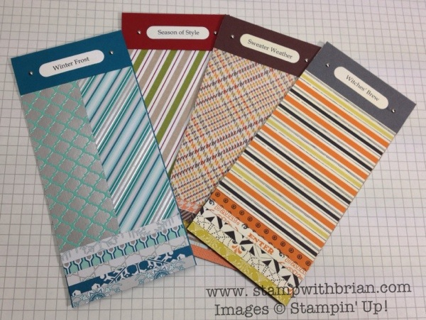 Holiday Catalog Designer Series Paper Swatch Books, Stampin' Up!, Brian King