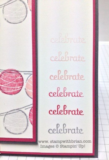 Happy Congratulations, Fabulous Phrases, Stampin' Up!, Brian King, PPA190