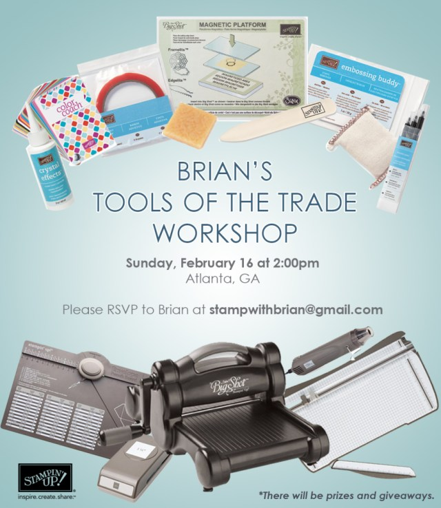 Tools of the Trade Workshop