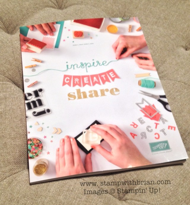 Brian King, Stampin' Up! 2014-2015 Annual Catalog