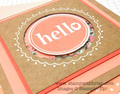 #Hello, Stampin' Up!, Brian King, FM166
