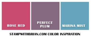 Color Inspiration #2, Stampin' Up!, Brian King