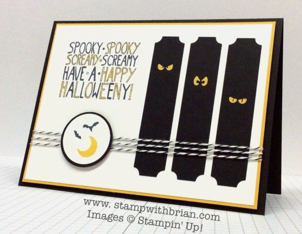 Freaky Friends, Mingle All the Way, Holiday Invitation, Stampin' Up!, Brian King, FMS147