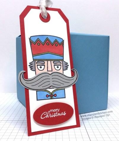 Santa Stache, Petite Pairs, Stampin' Up!, Brian King