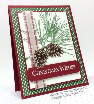 Ornamental Pine, Stampin' Up!, Brian King, MM121