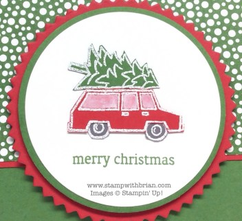 White Christmas, Holiday Home, Stampin' Up!, Brian King, FMS159