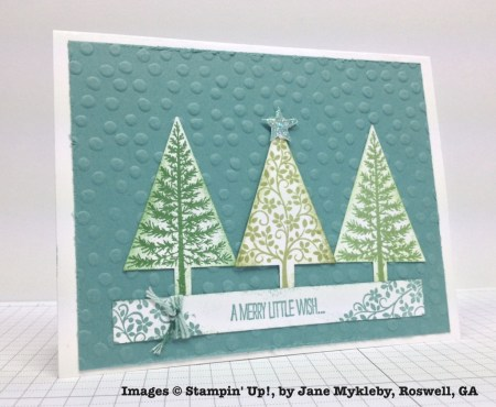 Holiday One-for-One Swap, Stampin' Up!, by Jane Mykleby