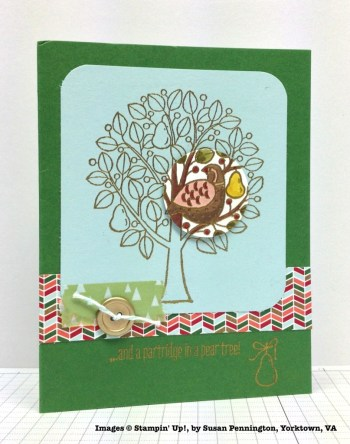 Holiday One-for-One Swaps, Stampin' Up!, by Susan Pennington