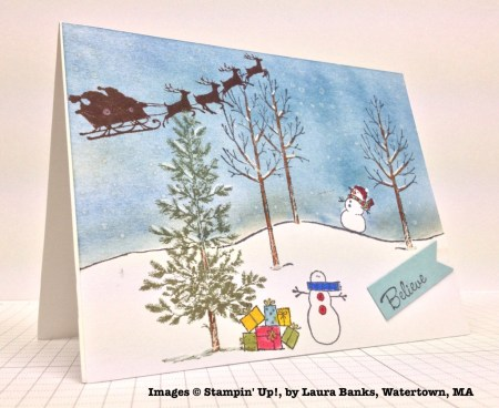 Holiday One-for-One Swap, Stampin' Up!, by Laura Banks